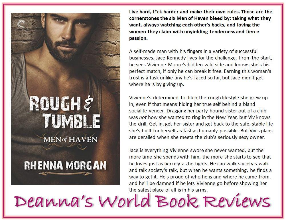 Rough & Tumble by Rhenna Morgan blurb
