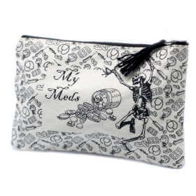 zip pouch - my med