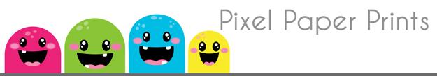Pixel Paper Prints
