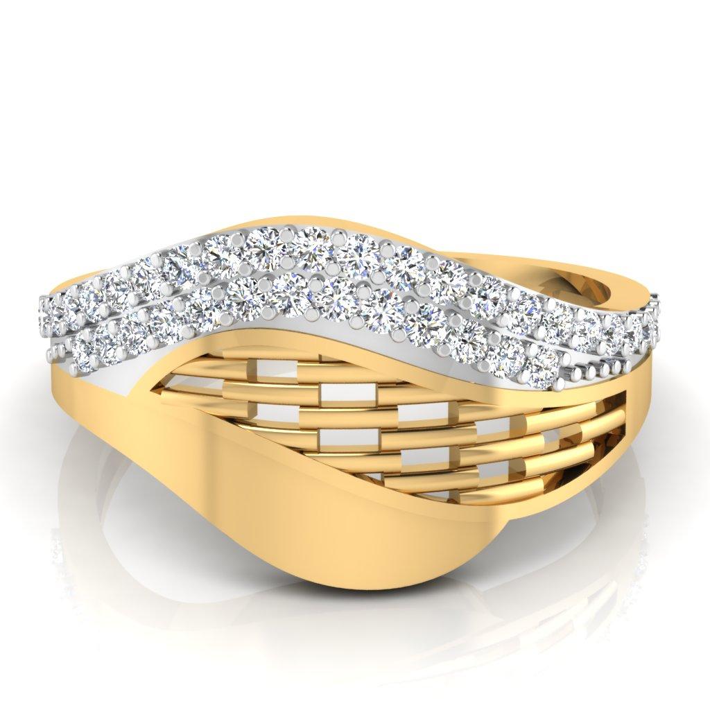 The Aspena Flora Diamond Ring