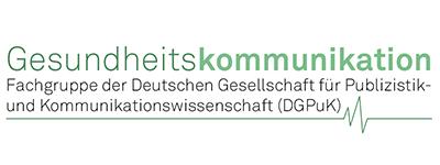 Logo Fachgruppe Gesundheitskommunikation