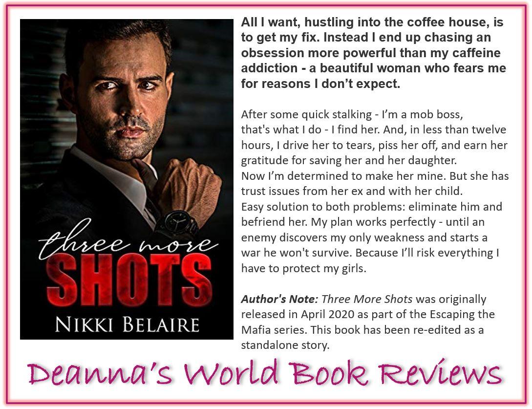 Three More Shots by Nikki Belaire blurb