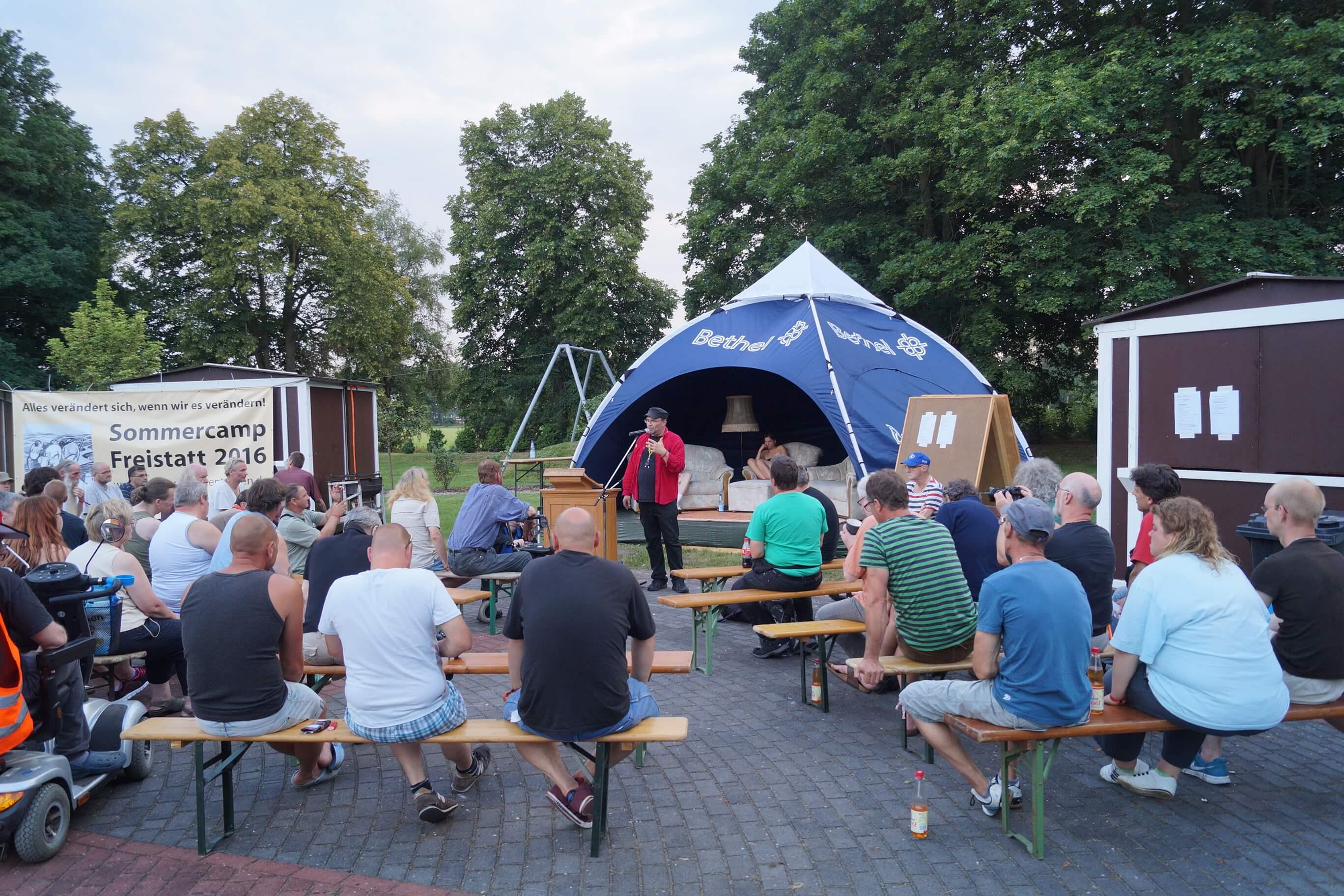 Wohnungslosentreffen Freistatt 2016 - Foto: Freistätter Online Zeitung