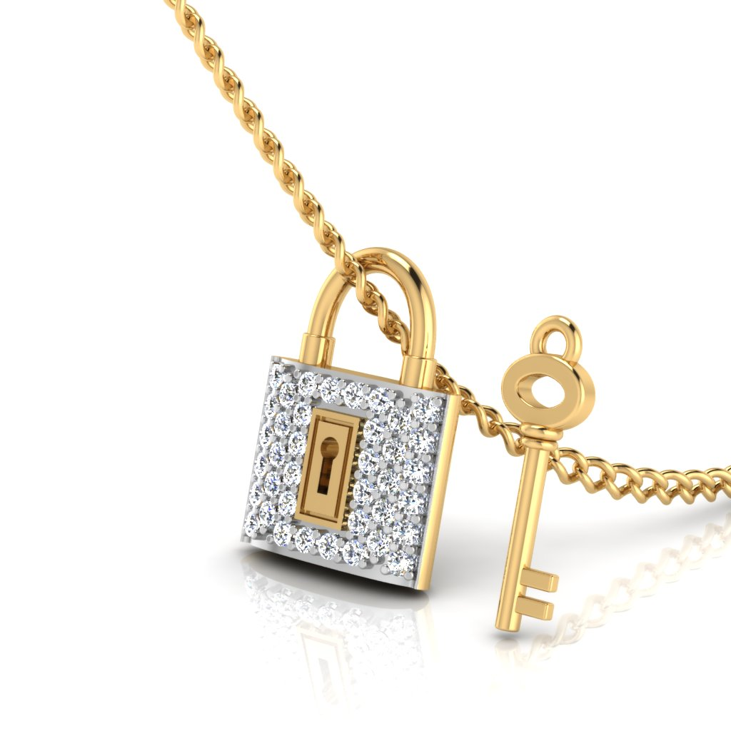 The Naughty Diamond Pendant