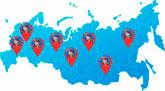 Карта голубиных питомников Москвы и Московской области