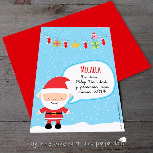 Felicitación de Navidad 2014 de Papá Noel