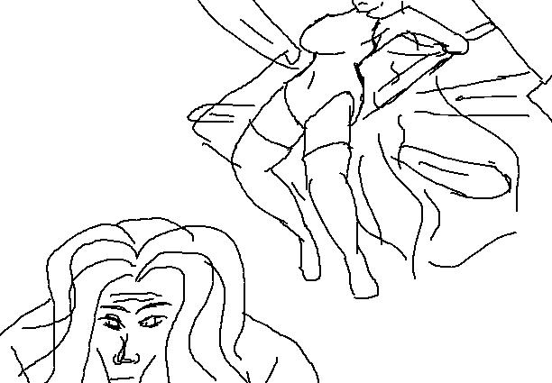 Dibujos feos de paint parte 3: Cruzados del pixelito blanco - Página 2 Michael
