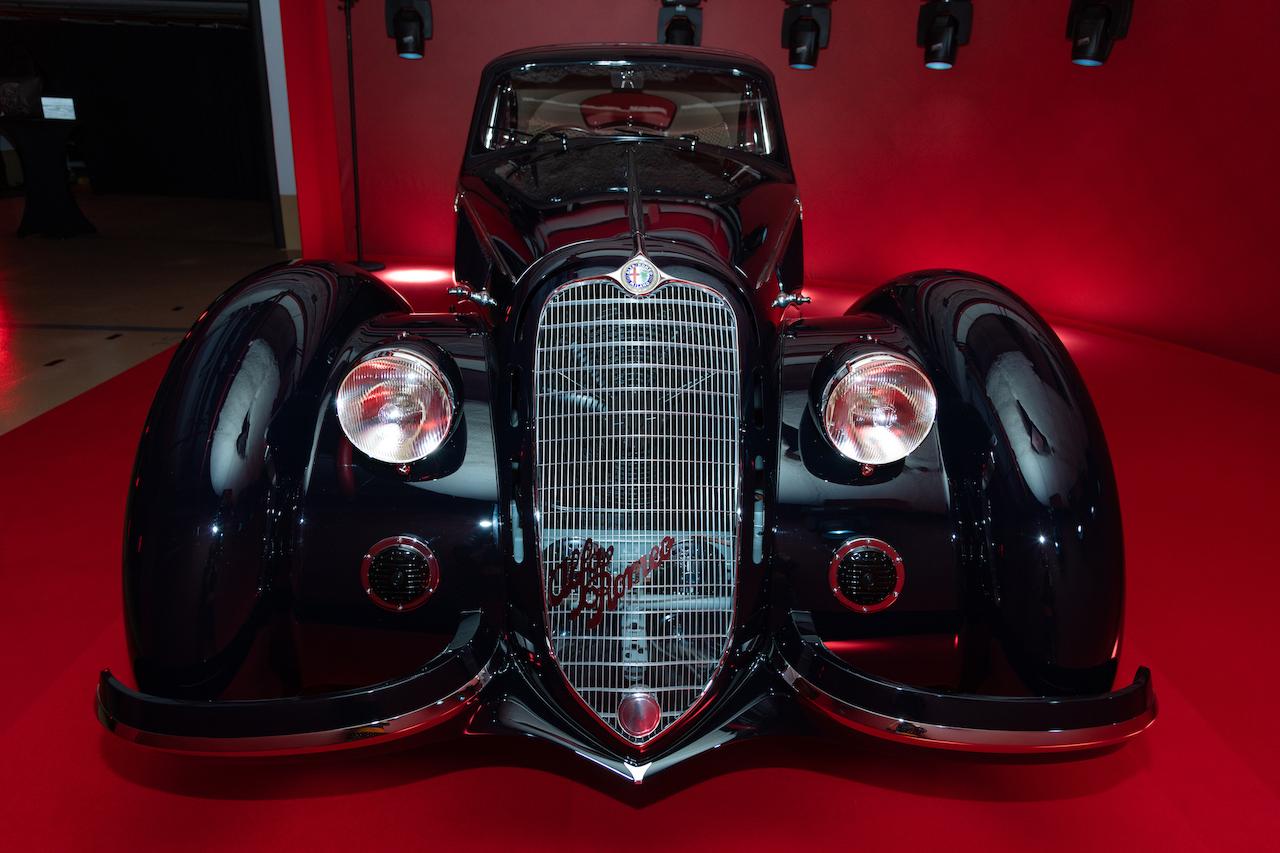 1937 Alfa Romeo 8C Wins Peninsula Classics Best of the Best Award