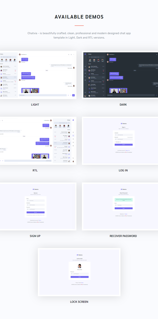 Chatvia - VueJs Chat App Template - 4