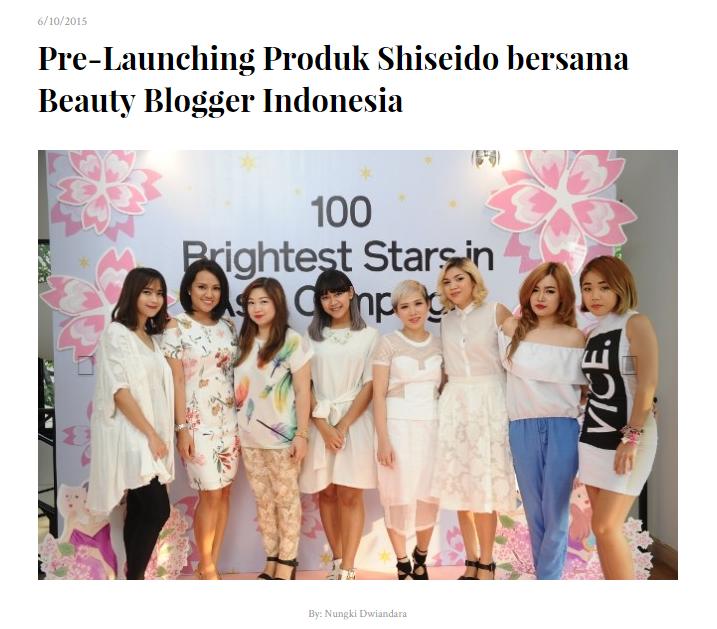 shiseido indonesia