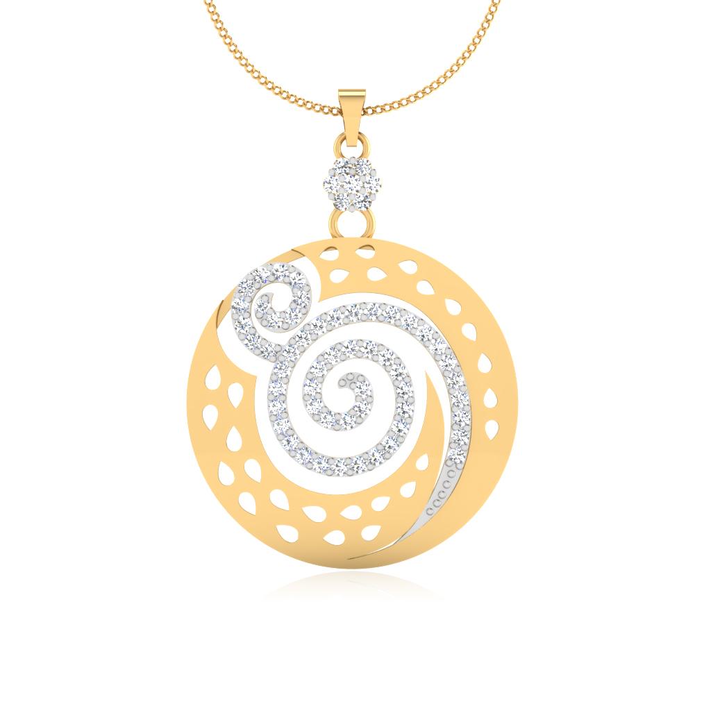 The Elegant Diamond Pendant