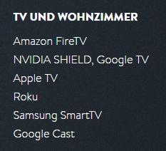 YouTV bietet nicht nur Streaming zum Anschauen über einen Browser oder zum Download als Video-Datei (MP4). Auch über viele Smart-TV-Geräte + Mobil-Geräte (wie Tablet oder Smartphone) kann man die Sendungen genießen.
