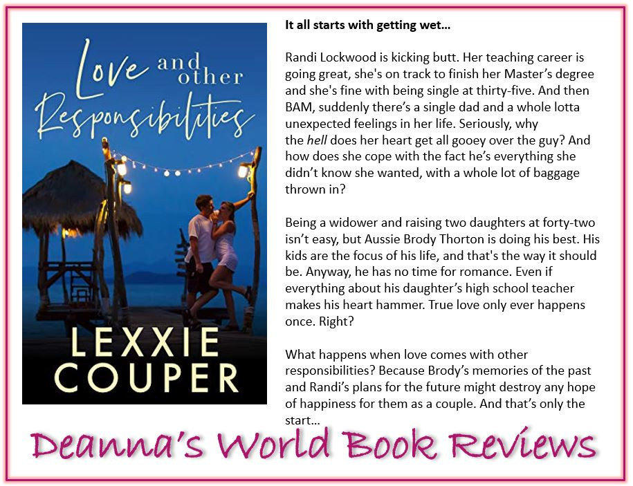 Love and Other Responsibilities by Lexxie Couper blurb