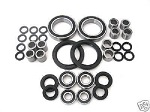 Suzuki LT500R LT-500R Quadzilla Chassis Bearings and Seals Kit 1987
