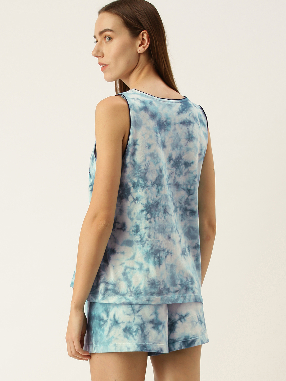 Slumber Jill Turq Blue Shorts set