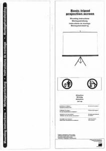Datenblätter für Beamer + Zubehör - jetzt als PDF herunterladen