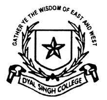 Dyal Singh College, Delhi