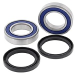 Rear Axle Bearings and Seals Kit Honda TRX125 1987 1988