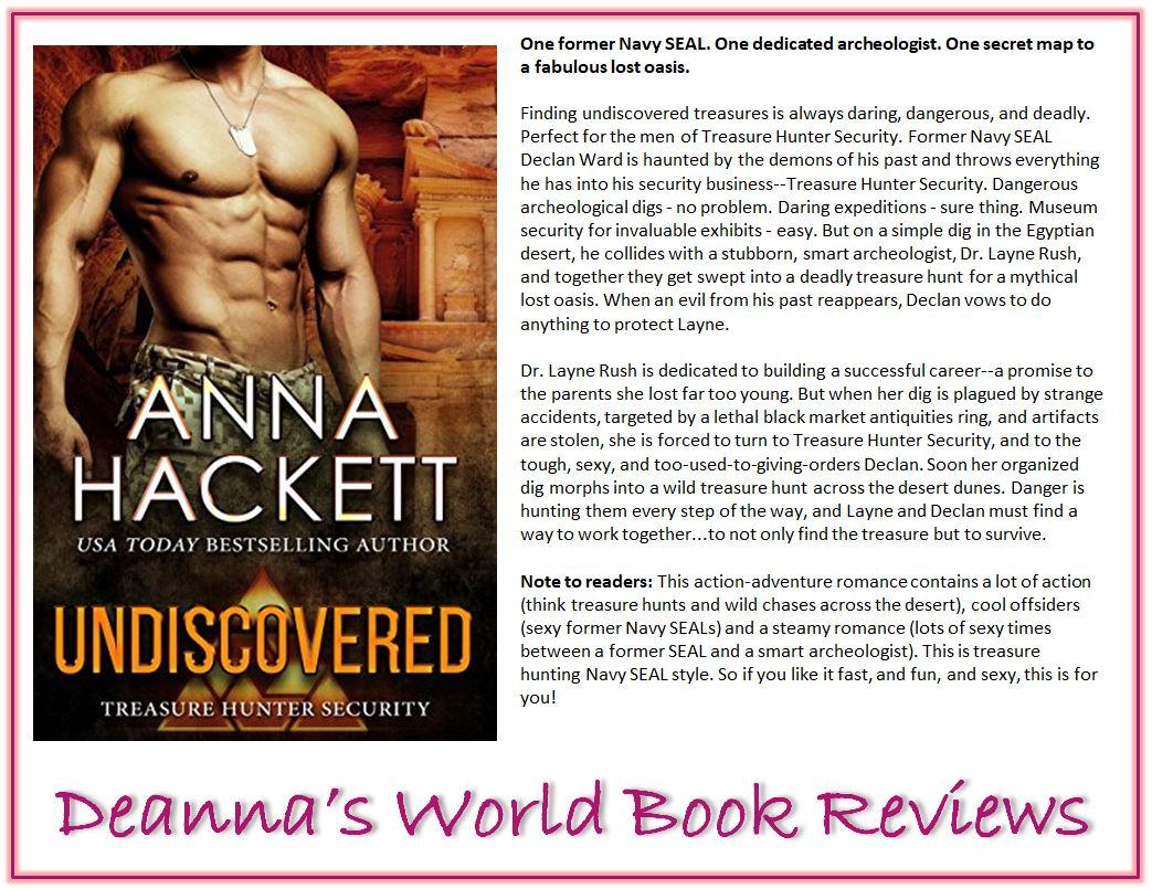 Undiscovered by Anna Hackett blurb