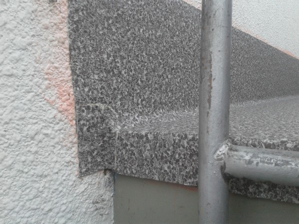 wall side drip edge corner