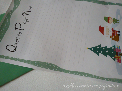 Carta para Papá Noel, Querido Papá Noel