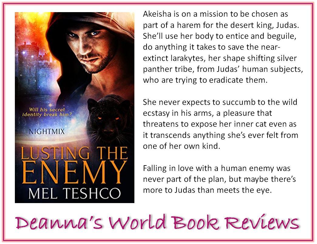 Lusting the Enemy by Mel Teshco blurb