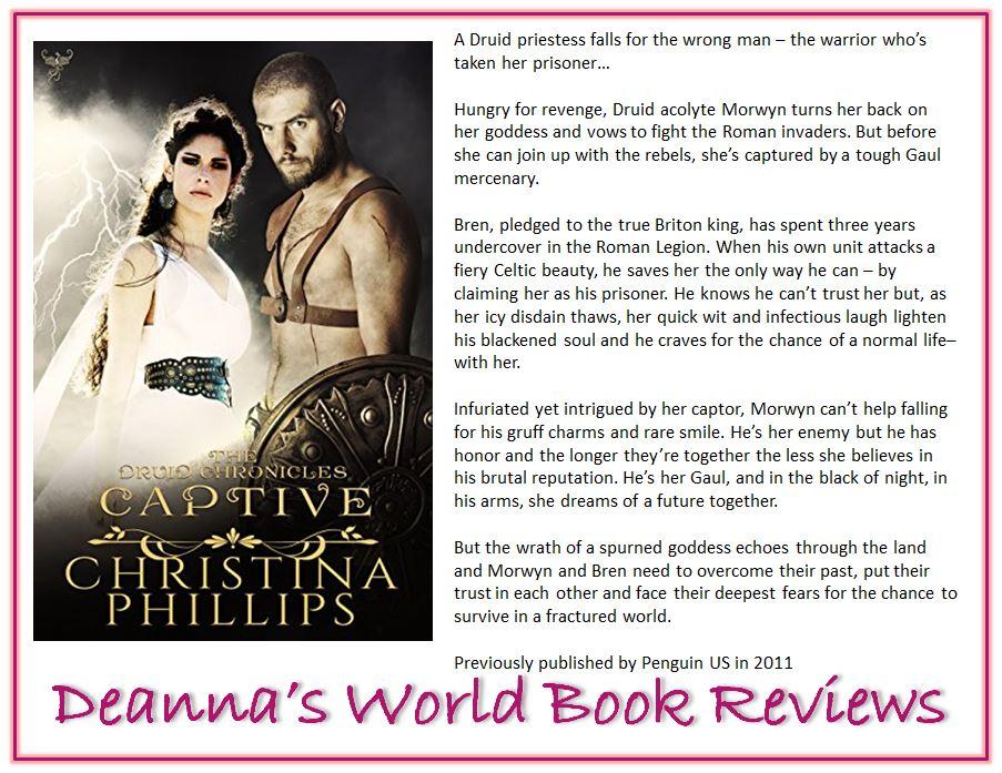 Captive by Christina Phillips blurb
