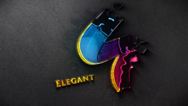 Liquid Gold Reveal Logo - 6