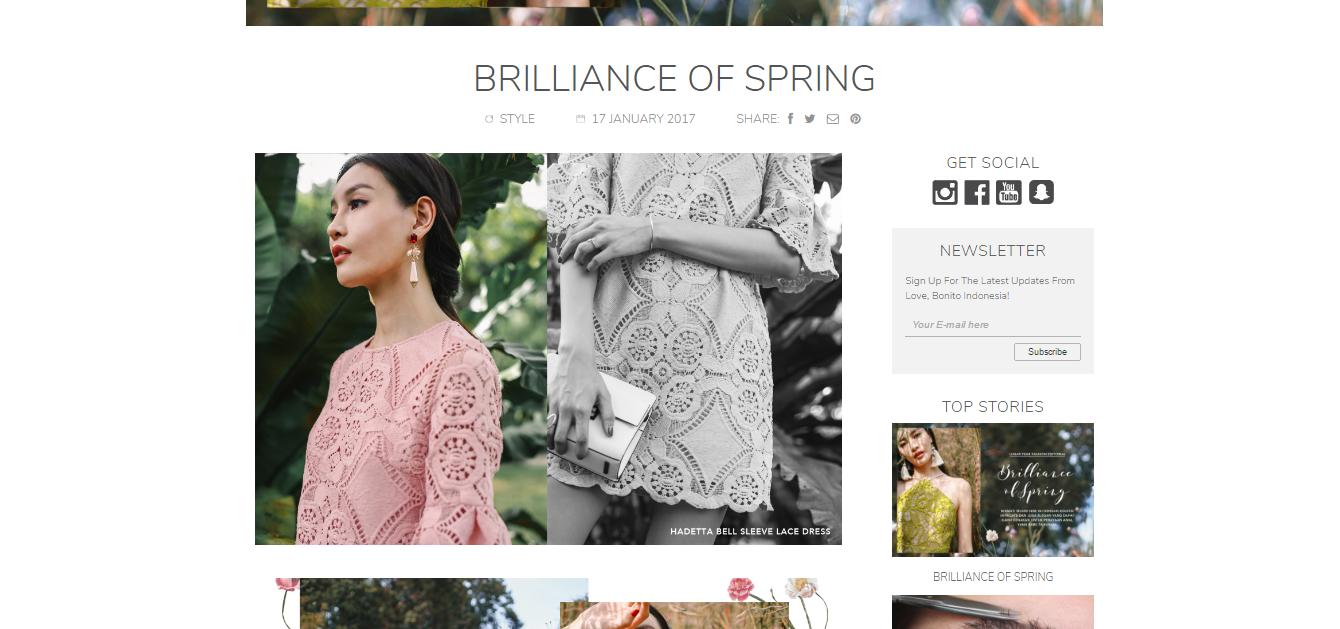 love bonito brilliance of spring