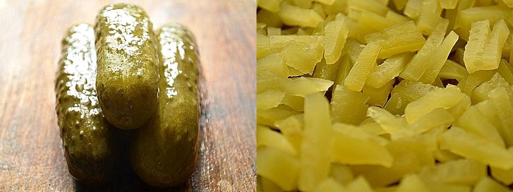 Густая солянка из говяжьих почек