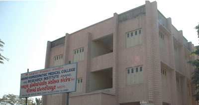 Anand Homeopathic Medical College And Research Institute