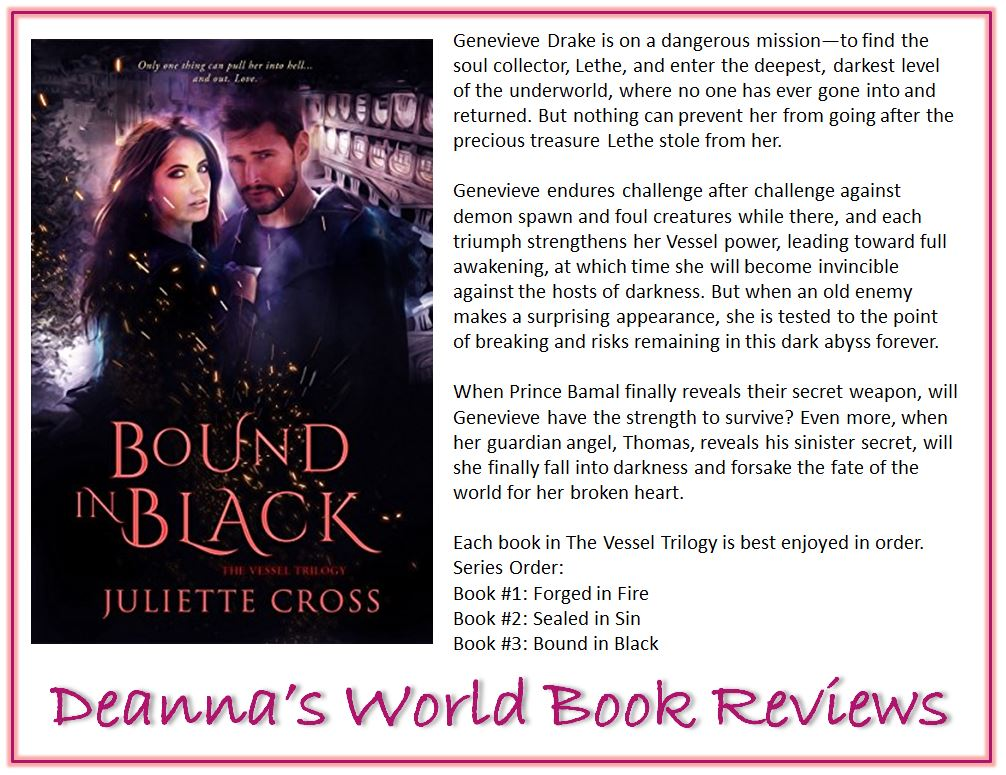 Bound In Black by Juliette Cross blurb