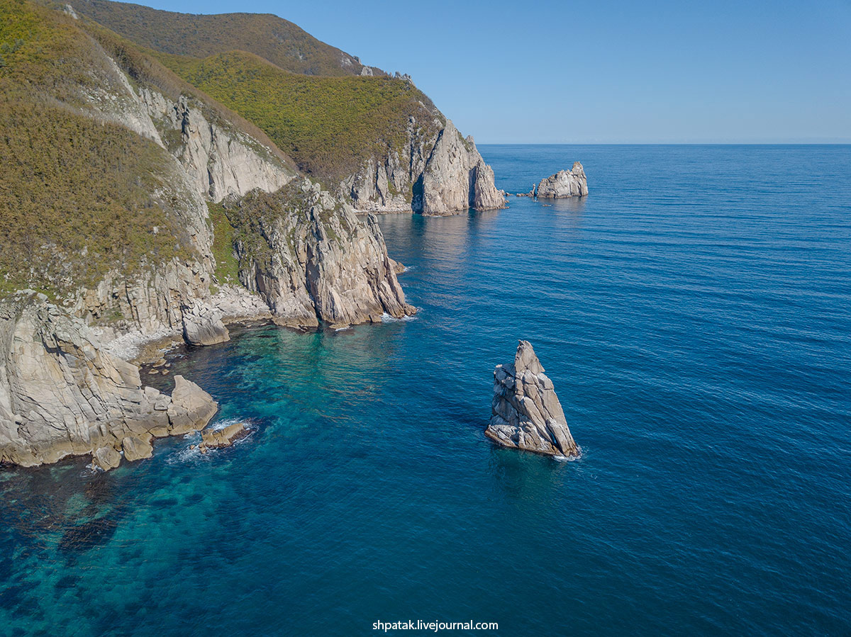 Diving in the north of Primorye. Beyond the Oprichnik Bay.