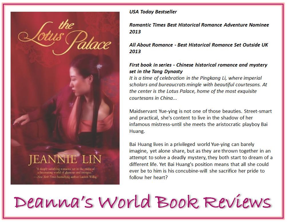 The Lotus Palace by Jeannie Lin blurb