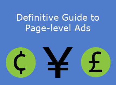 Google adsense page-level ads explained