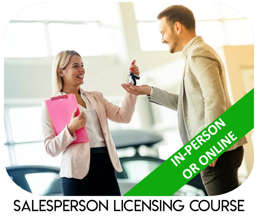Salesperson Licensing Course