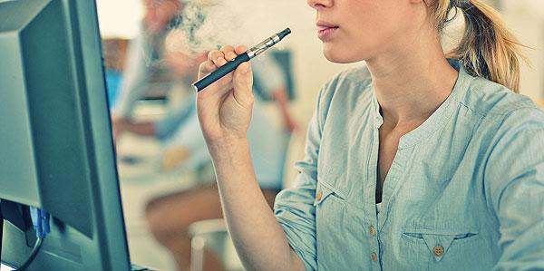palenie e-papierosa w pracy