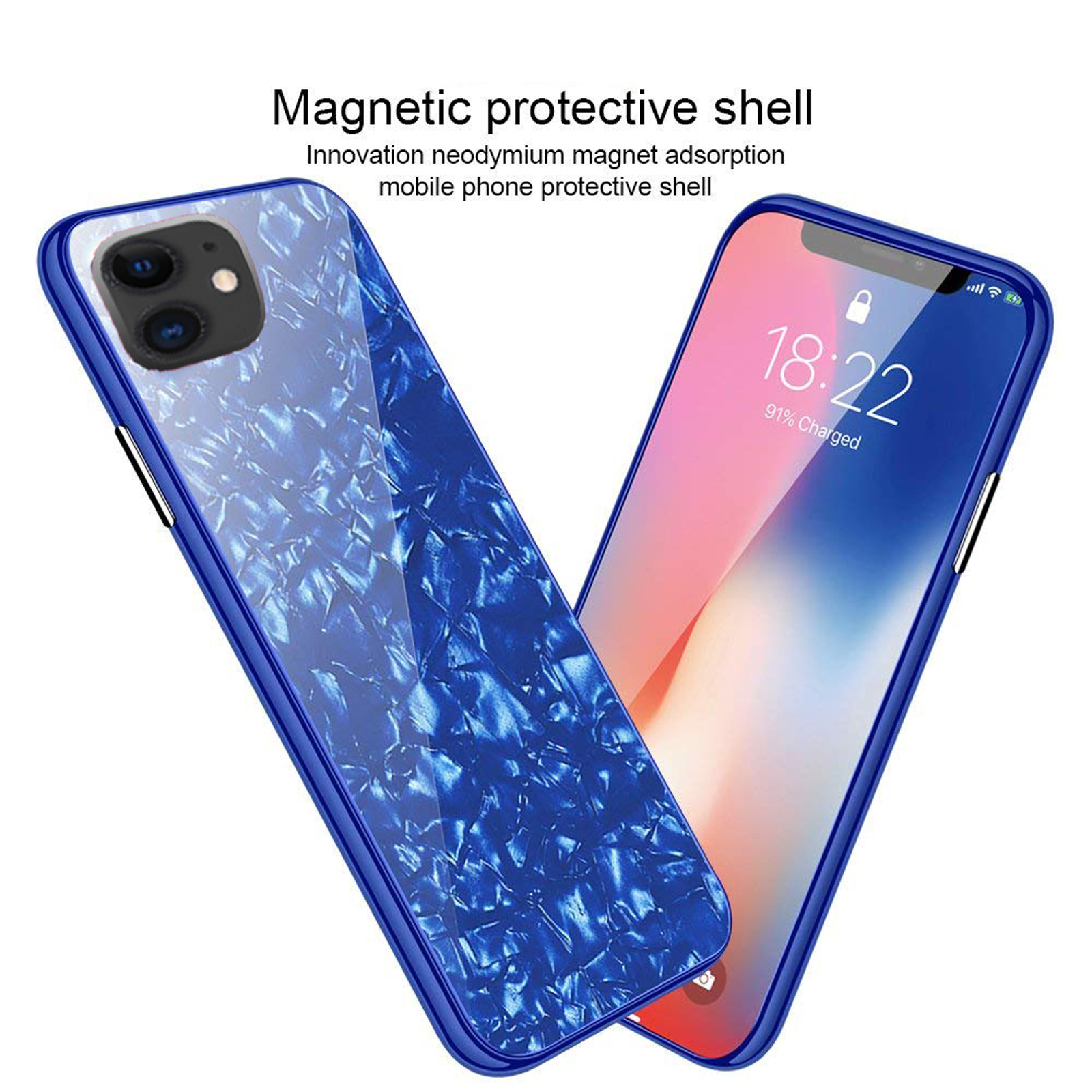 Luxury-Marble-Tempered-Glass-Case-Cover-For-Apple-iPhone-X-XS-XR-Max-10-8-7-6s-6 thumbnail 48