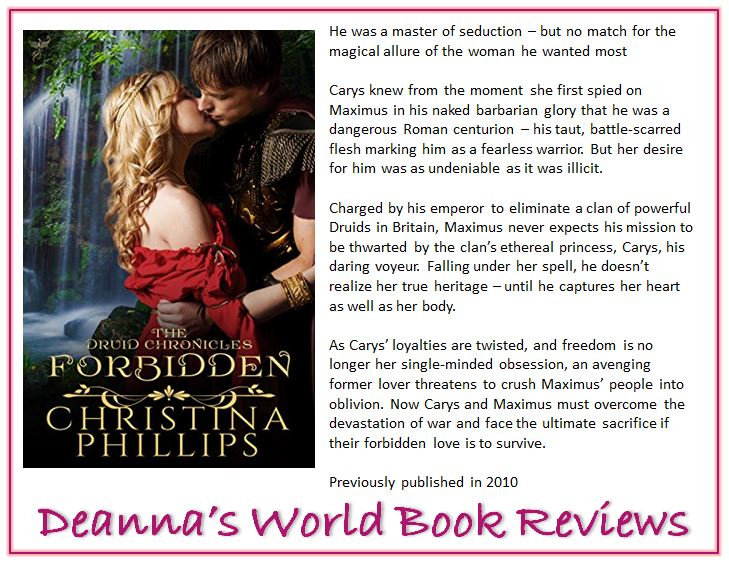 Forbidden by Christina Phillips blurb