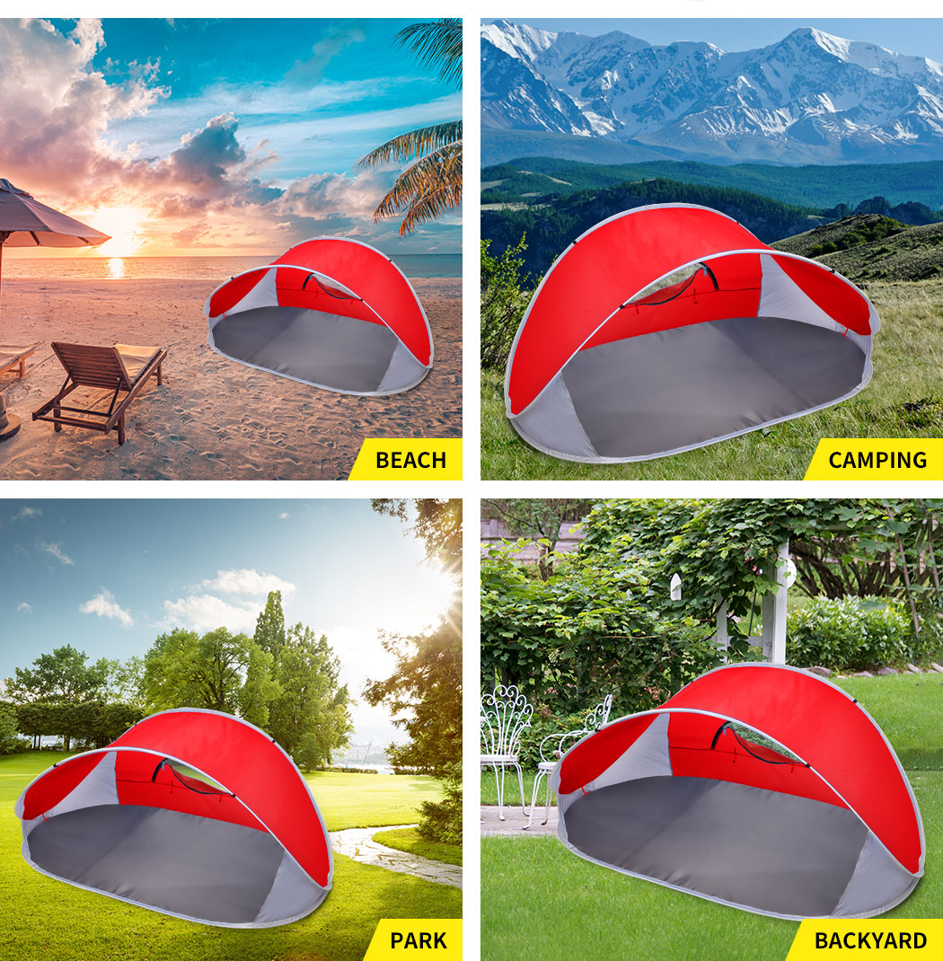 Mountvie-Pop-Up-Tent-Camping-Beach-Tents-4-Person-Portable-Hiking-Shade-Shelter thumbnail 45