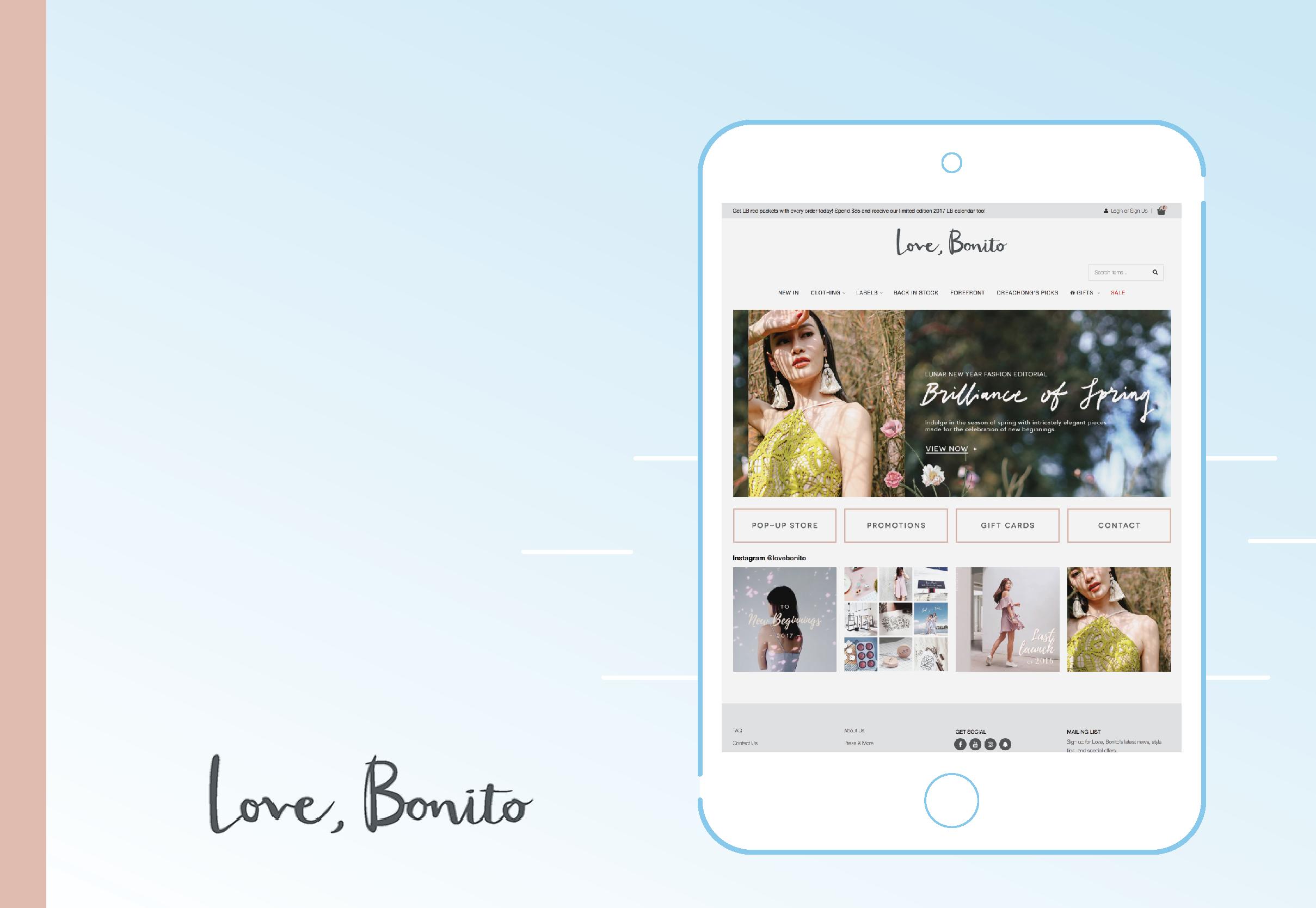 Tampil Chic dengan Koleksi Fashion dari Love, Bonito