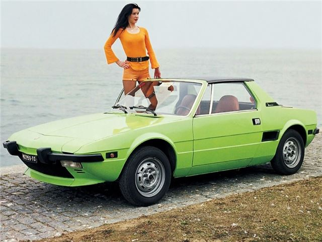 Collector Series: 1978 Fiat x1/9 Lido