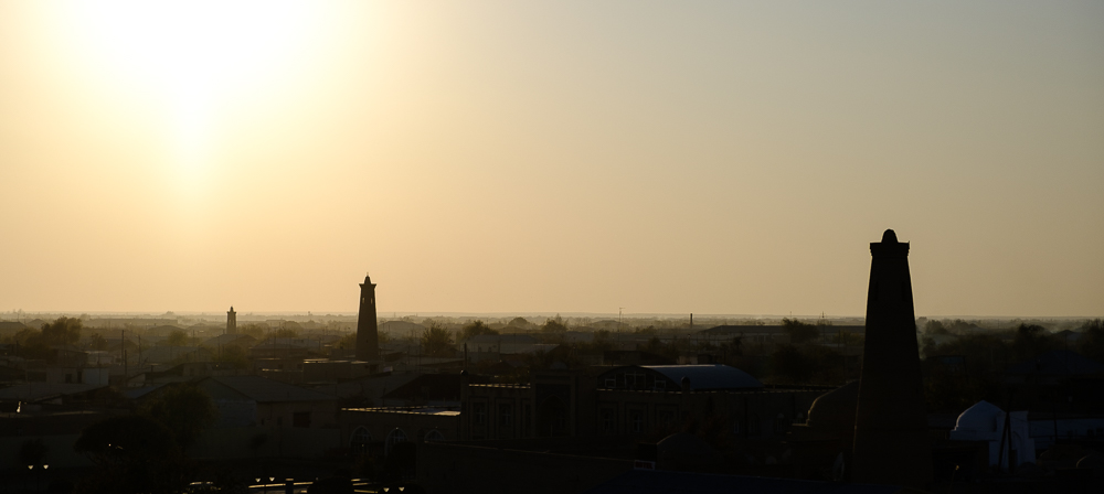 minarets by night