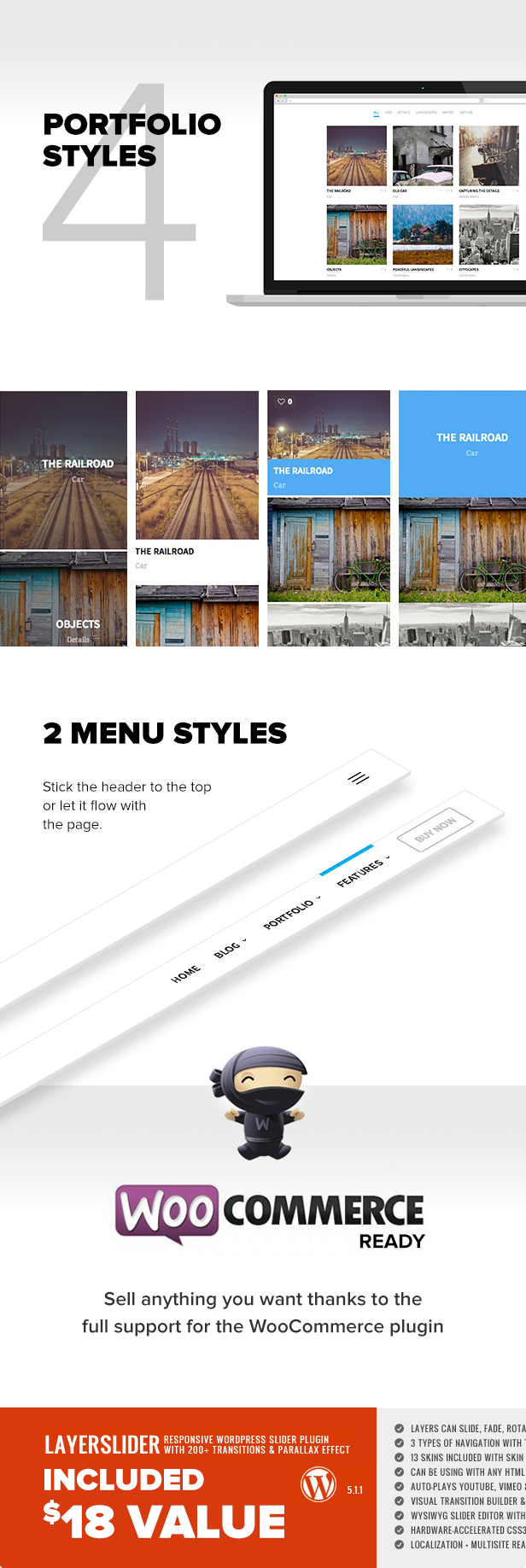 One - The Creative Multipurpose Portfolio theme - 3