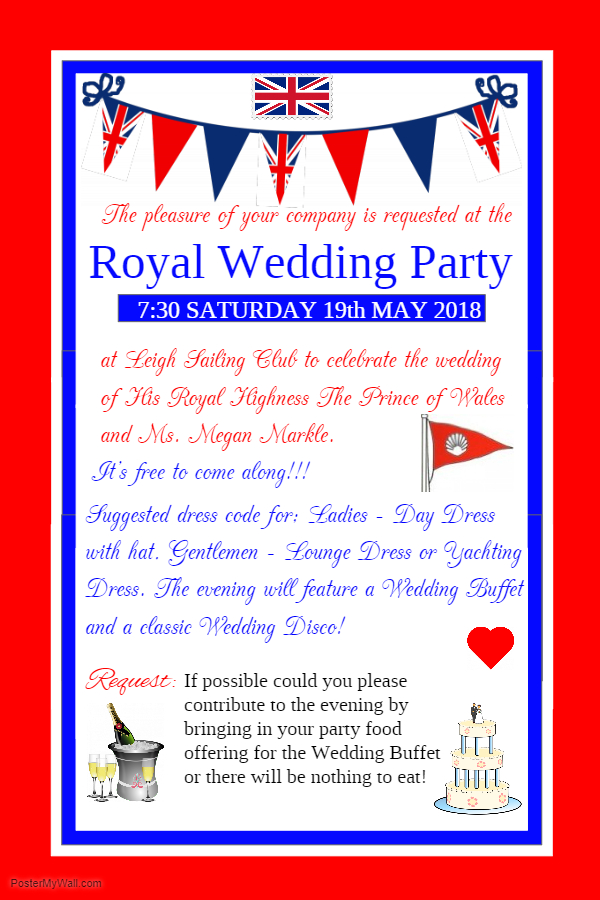 Royal Wedding Party 2018