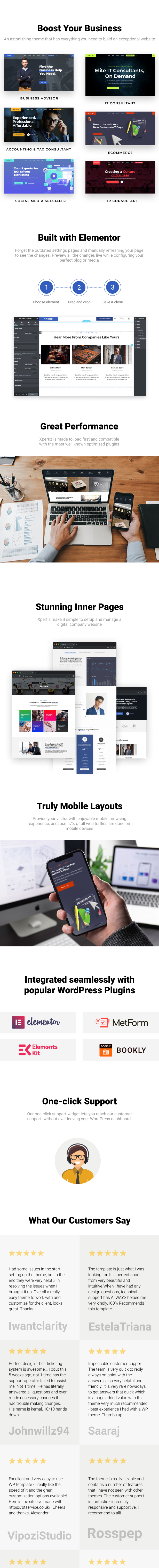 Xpertiz - WordPress Theme For Advisors And Experts - 1