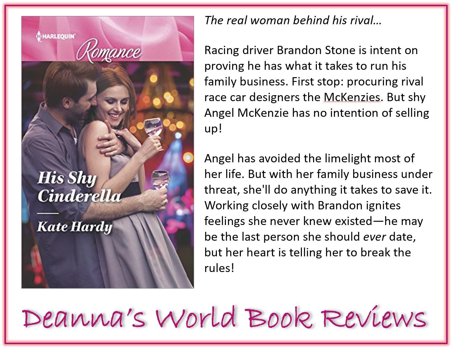 His Shy Cinderella by Kate Hardy blurb