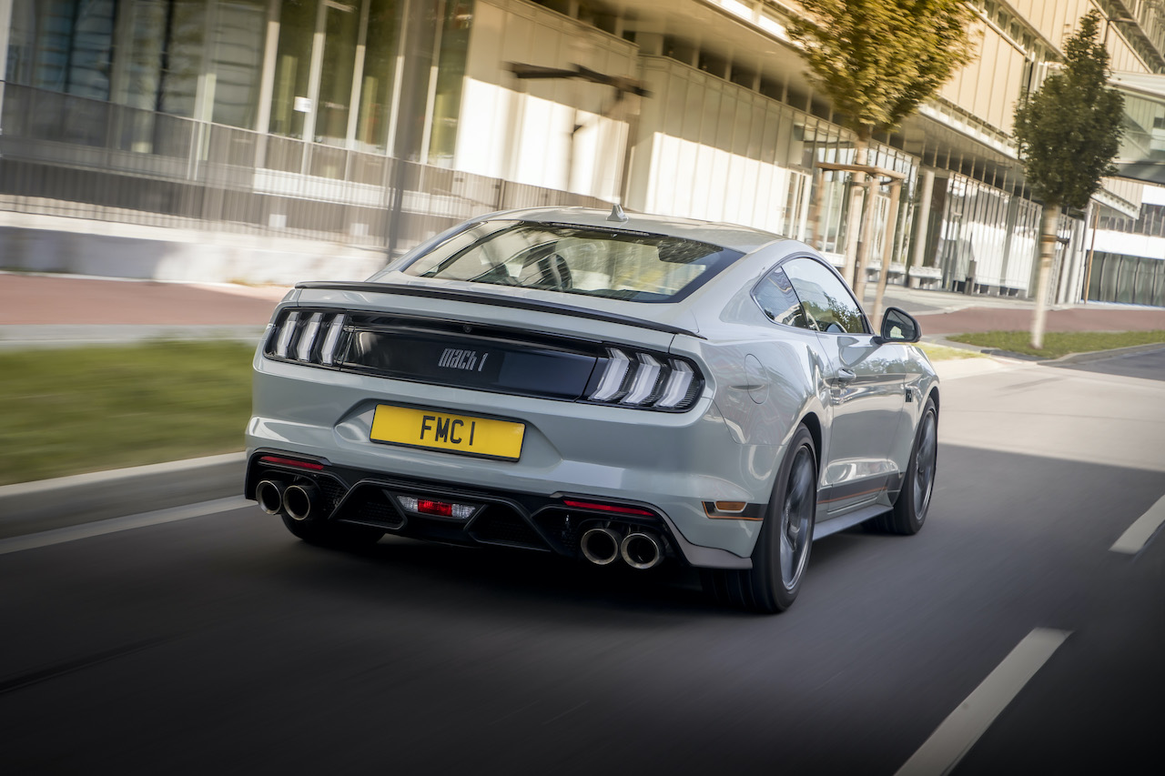 Track-ready Ford Mustang Mach 1 set for UK debut