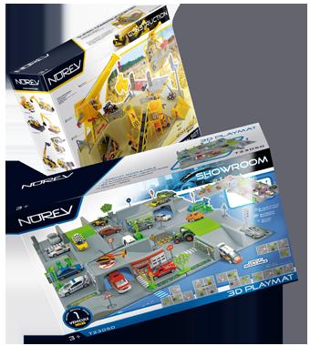 Packagings de miniatures ou de jouets. Cliquez pour accéder à l'article