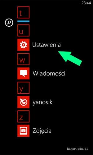 Jak sprawdzić MAC w Windows Phone